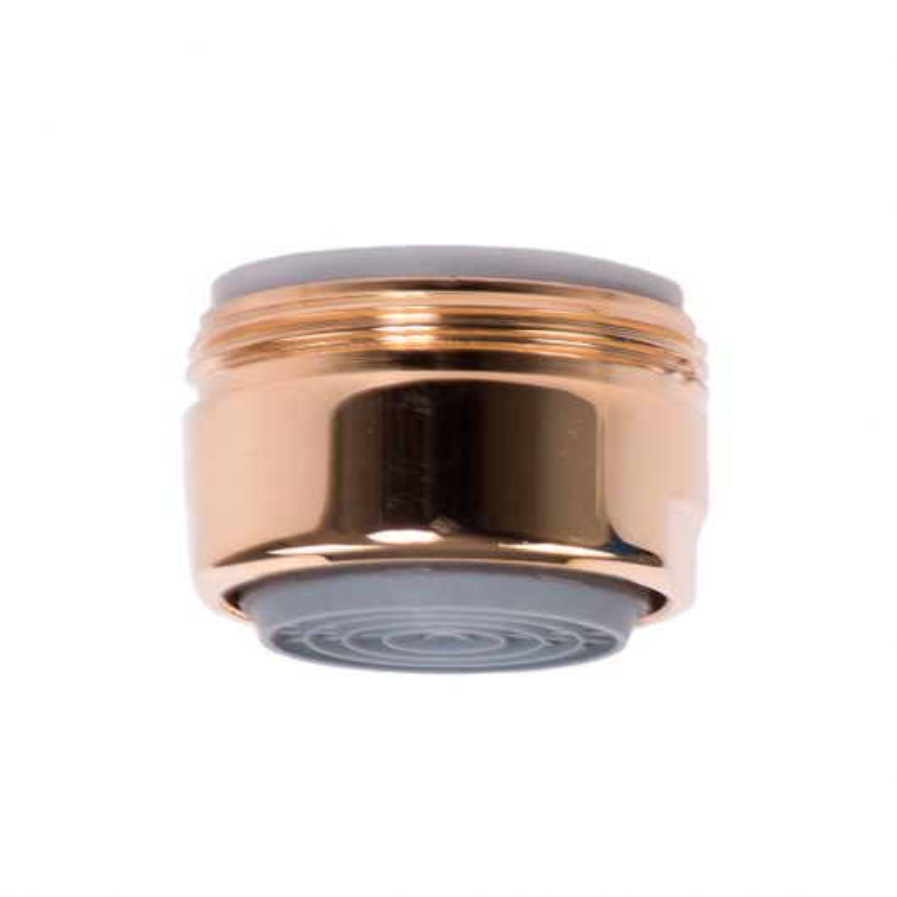 Strahlregler vergoldet mit Cascade SLC M24-AG mit autoclean grün 7.5l/min. NEOPERL
